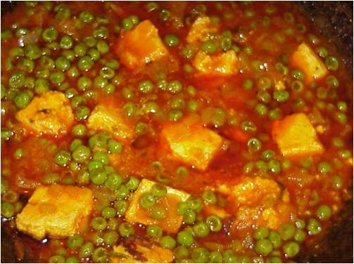 Ethnic cottage all natural exotic sauces and amazing recipes our matar paneer peas and cheese forumfinder Choice Image